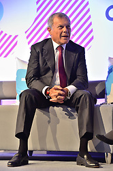 © Licensed to London News Pictures. 11/10/2018. London, UK. Sir Martin Sorrell in conversation at the Festival of Marketing held at Tobacco Dock. Photo credit: Ray Tang/LNP