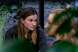 20-11-2019 NED: Pressmoment Handball women, Aalsmeer<br /> Handball women have a final training and press conference before they leave for Japan for the World Cup / Bo van Wetering #12 of Netherlands