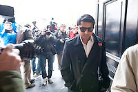 08/04/2013  Praveen Halappanavar  at Galway Coroner Court for the Inquest into the death of his wife Savita at Galway University Hospital. Picture:Andrew Downes..