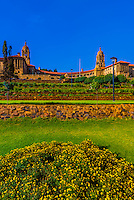 Gardens, The Union Buildings form the official seat of the South African government and also house the offices of the president of South Africa. Pretoria (Tshwane), South Africa