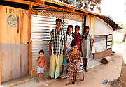 Ravikumar is happy to be home with his wife and son. They&rsquo;re now living in a transitional shelter constructed with assistance from the International Organisation for Migration (IOM). Ravikumar is also looking after his sister and her two daughters. His sister has polio and her husband was killed in the conflict.<br /> <br /> They&rsquo;ve already improvised their shelter from the basic materials provided by IOM. &ldquo;We had to make more room as there are six of us now&rdquo; he says.<br /> <br /> To find out more about how DFID support is helping people like Ravikumar in Sri Lanka, please visit www.dfid.gov.uk/srilanka ( http://www.dfid.gov.uk/srilanka ) <br /> <br /> Image: Russell Watkins / Department for International Development