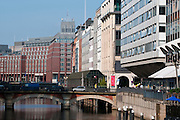 Alsterfleet, Hamburg, Deutschland.|.Alsterfleet, Hamburg, Germany