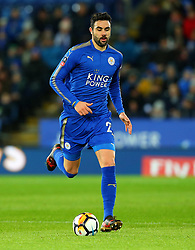 Vicente Iborra of Leicester City - Mandatory by-line: Robbie Stephenson/JMP - 16/01/2018 - FOOTBALL - King Power Stadium - Leicester, England - Leicester City v Fleetwood Town - Emirates FA Cup third round proper