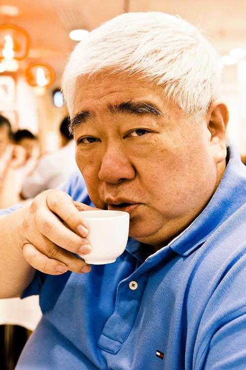 Hugo Leung at Tai Wing Wah.