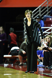 05 February 2011: Teri Moren during an NCAA Women's basketball game between the Indiana State Sycamores and the Illinois State Redbirds at Redbird Arena in Normal Illinois.