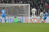 can - 28.02.2017 - Torino - Serie A 2016/17 - 11a giornata  -  Juventus-Napoli  nella  foto: Jose Maria Callejon segna il gol dell ' 1 a 0