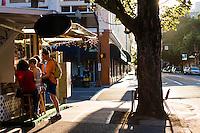 Food carts in Portland, Oregon.