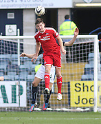 Aberdeen&rsquo;s Kenny McLean  - Dundee v Aberdeen, SPFL Premiership at Dens Park<br /> <br />  - &copy; David Young - www.davidyoungphoto.co.uk - email: davidyoungphoto@gmail.com