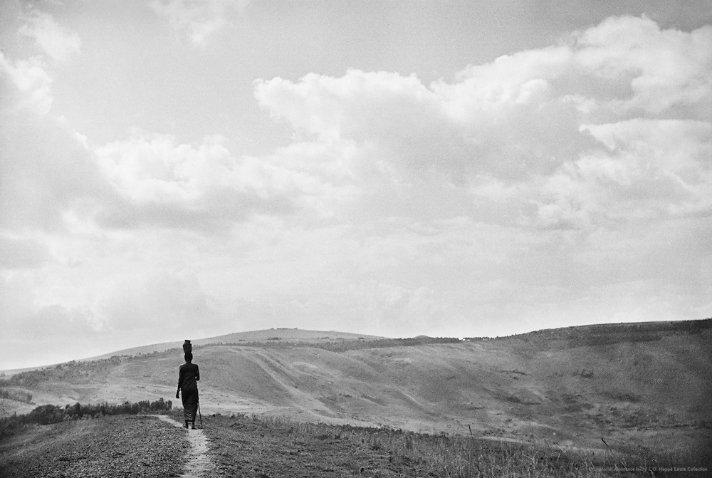 Woman Walking, Ruhengeri, Ruanda-Urundi (now Rwanda), Africa, 1937