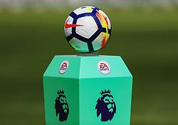 The Nike Premier League match ball - Mandatory by-line: Matt McNulty/JMP - 15/04/2018 - FOOTBALL - St James Park - Newcastle upon Tyne, England - Newcastle United v Arsenal - Premier League