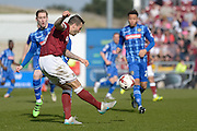 Northampton Town Striker Marc Richards during the Sky Bet League 2 match between Northampton Town and Notts County at Sixfields Stadium, Northampton, England on 2 April 2016. Photo by Dennis Goodwin.