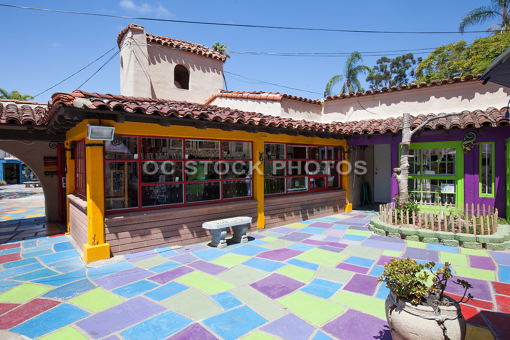 Spanish Village Art Center San Diego