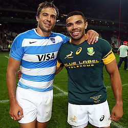 AFTER MATCH South Africa v Argentina