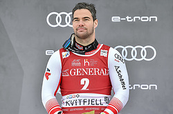 08.03.2020, Kvitfjell, NOR, FIS Weltcup Ski Alpin, SuperG, Herren, Siegerehrung SuperG Weltcup Saison 2019/20, im Bild Vincent Kriechmayr (AUT, Saison 2019/20 SuperG Weltcup 2. Platz) // SuperG World Cup second placed Vincent Kriechmayr of Austria for the men's Super G overall ranking of FIS ski alpine world cup 2019/20 season. Kvitfjell, Norway on 2020/03/08. EXPA Pictures © 2020, PhotoCredit: EXPA/ Jonas Ericson