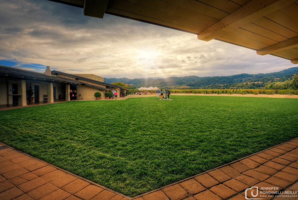 Photo taken while visting Robert Mondavi Winery in Napa, CA.
