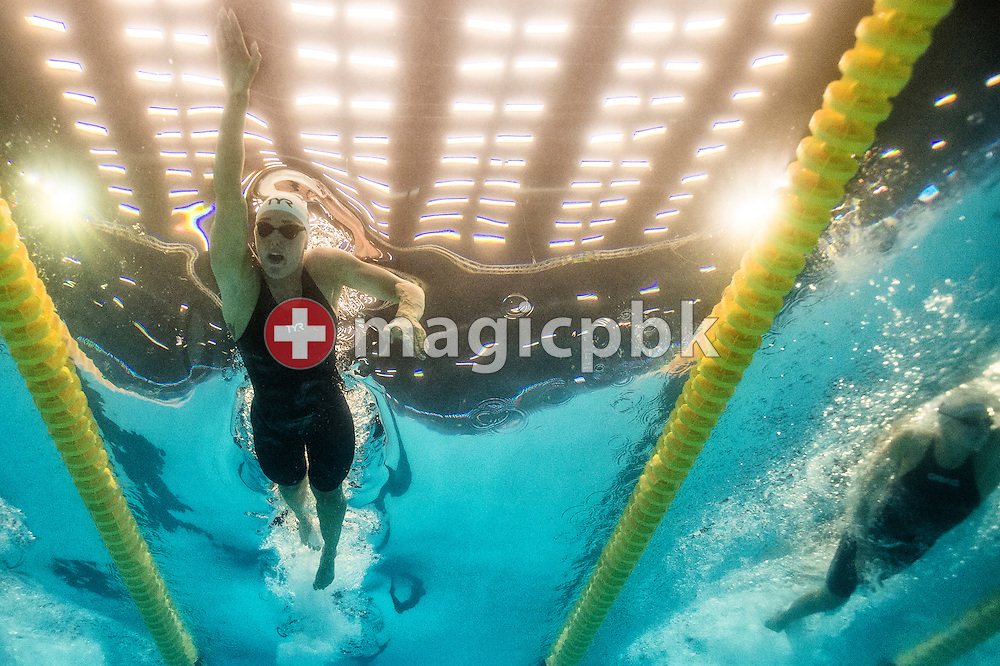 Jeanette OTTESEN GRAY of Denmark competes in the women's 100m Freestyle Heats during the 17th European Short Course Swimming Championships held at the Jyske Bank BOXEN in Herning, Denmark, Thursday, Dec. 12, 2013. (Photo by Patrick B. Kraemer / MAGICPBK)