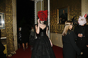 Kirsten Varley, The Moet and Chandon Fashion Tribute 2006 Honouring British Photographer Nick Knight. Strawberry Hill House. Twickenham. 24 October 2006. -DO NOT ARCHIVE-© Copyright Photograph by Dafydd Jones 66 Stockwell Park Rd. London SW9 0DA Tel 020 7733 0108 www.dafjones.com