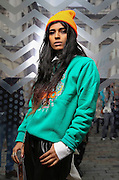 Street Fashion at London Fashion week on Saturday September 14 , 2013.<br /> <br /> Photo Ki Price