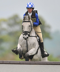 ROSIE SKINNER ON WASHINGTON, CROSS COUNTRY SECTION, Rockingham International Horse Trials, Rockingham Castle  Saturday  21st May 2016<br /> Photo:Mike Capps