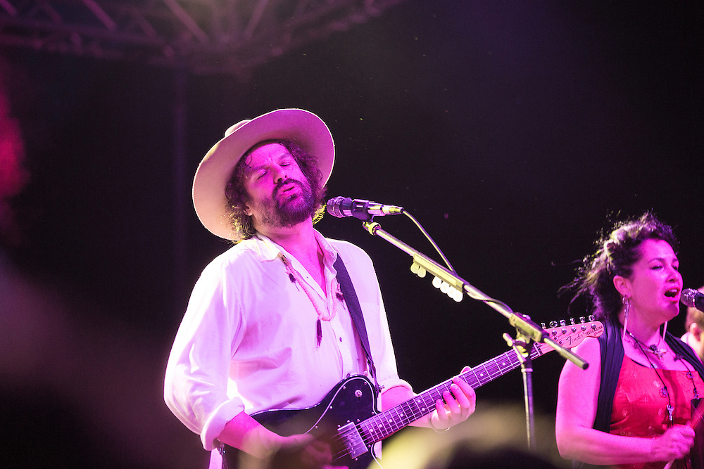 Rusted Root performs at the Pawpaw Festival on Sept. 17, 2016.