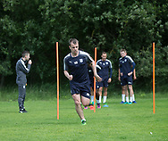 Dundee&rsquo;s Paul McGowan during the warm up - Dundee FC pre-season training at Michelin Grounds, Dundee, Photo: David Young<br /> <br />  - &copy; David Young - www.davidyoungphoto.co.uk - email: davidyoungphoto@gmail.com