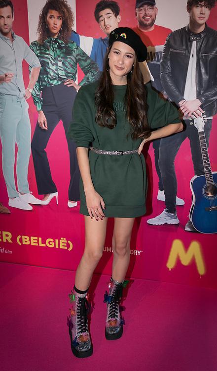2019, September 20. Pathe ArenA, Amsterdam, the Netherlands. Meisje Djamila at the premiere of Misfit 2.