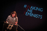 Katie Holly. Film producer. Waking the Feminists. The Abbey Theatre. ©Tamara Him