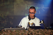 James Lavelle UNKLE Djing at the Astoria London January 1999