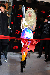 60715673 <br /> Lady Gaga attends the H&M Times Square grand opening, New York City, USA , Thursday, 14th November 2013. Picture by  imago / i-Images<br /> UK ONLY