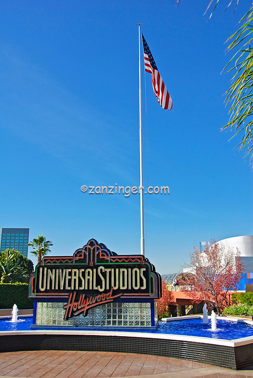 Universal City California; LA, Citywalk   Universal studios