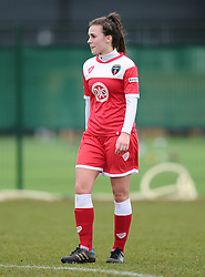 Bristol Academy's Georgia Evan  - Photo mandatory by-line: Joe Meredith/JMP - Mobile: 07966 386802 - 01/03/2015 - SPORT - Football - Bristol - SGS Wise Campus - Bristol Academy Womens FC v Aston Villa Ladies - Women's Super League