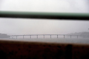(photo by Matt Roth).Monday, October 29, 2012.Assignment ID: 10133655A..The Bay Bridge in Annapolis, Maryland closed at 3PM Monday, October 29, 2012. .