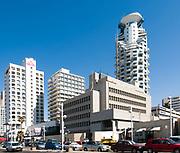 Israel, Tel Aviv. The American Embassy