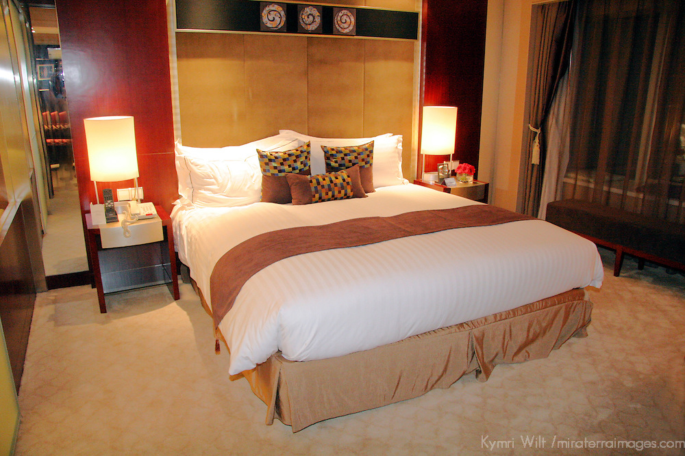 Asia, China, Xian. Sofitel Suite King Bed