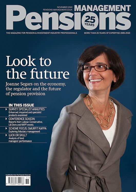 Pensions Management Cover Joanne Segars Chief Executive NAPF