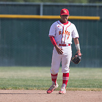 (Photograph by Bill Gerth/for SVCN/5/4/17) Leigh vs Willow Glen in a BVAL Baseball Game at Willow Glen High School, San Jose CA on 5/4/17 (Willow Glen defeats Leigh 10-1)