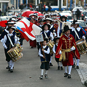 NLD/Amsterdam/20081115 - Optocht van de Schutterij door Amsterdam
