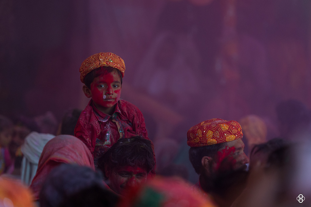A quick share from todays shoot at Barsana, where 'Holi - The Festival of Colors', takes a whole new dimension. Glad I made this trip, possibilities are endless when on these vintage lanes. <br />