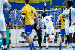 Ferlin Klemen of RK Celje Pivovarna Lasko during handball match between RK Celje Pivovarna Lasko (SLO) and Paris Saint-Germain HB (FRA) in 11th Round of EHF Champions League 2019/20, on 9 February, 2020 in Arena Zlatorog, Celje, Slovenia. Photo Grega Valancic / Sportida