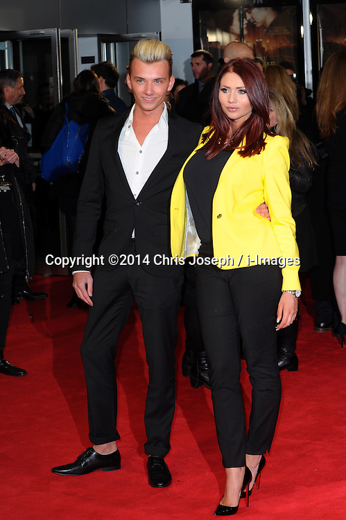 Amy Childs & Harry Derbridge  attends  the UK premiere of 'A New York Winter's Tale' at The Odeon Kensington, London, United Kingdom. Thursday, 13th February 2014. Picture by Chris Joseph / i-Images