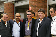 During the inaugural A1GP race held at Brands Hatch Motor Racing Circuit, Kent England..