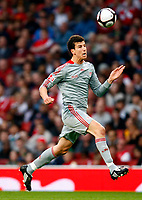Fotball<br /> England<br /> Foto: Colorsport/Digitalsport<br /> NORWAY ONLY<br /> <br /> Daniel Ayala of Liverpool FA Cup 1st Leg Arsenal Youth v Liverpool Youth at Emirates  22/05/2009