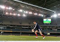 28 June 2013; Jonathan Sexton, British & Irish Lions, during kickers practice ahead of their 2nd test match against Australia on Saturday. British & Irish Lions Tour 2013, Kickers Practice. Etihad Stadium, Docklands, Melbourne, Australia. Picture credit: Stephen McCarthy / SPORTSFILE