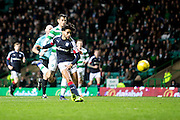 Dundee's Faissal El Bakhtaoui misses a golden chance to earn the Dark Blues a point at Celtic Park - Celtic v Dundee in the Ladbrokes Scottish Premiership at Celtic Park, Glasgow. Photo: David Young<br /> <br />  - © David Young - www.davidyoungphoto.co.uk - email: davidyoungphoto@gmail.com
