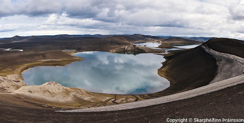 Lake Fossavatn in Veiðivötn, central highlands of Iceland