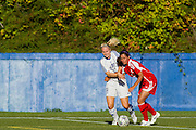 07 September 2012:  VANCOUVER - It didn't take long for the offence to get revved up for UBC in the new season, as the Thunderbirds struck early and often to take their 2012 Canada West opener 5-1 against the Calgary Dinos on Friday at Thunderbird Stadium. Action during a women's soccer game between the University of British Columbia Thunderbirds and the University Calgary Dinos at Thunderbird Stadium, University of British Columbia, Vancouver, BC, Canada.  Final Score:  UBC  5  U of C 1  ****(Photo by Bob Frid/UBC Athletics 2012 All Rights Reserved)
