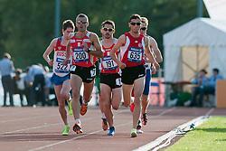 AKHTYAMOV Alexey, SUAREZ LASO Alberto, Gustavo Nieves, AKBULUT Oguz, 2014 IPC European Athletics Championships, Swansea, Wales, United Kingdom