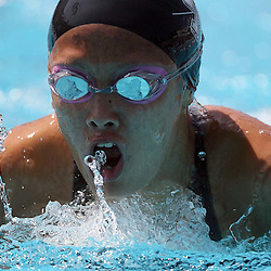Keppel's Megan Chiu in the 200 yard IM during the CIF Southern Section Swimming Championships at Mt. San Antonio College on Saturday May 16, 2009 in Walnut. (SGVN/Staff Photo by Keith Birmingham/SPORTS)