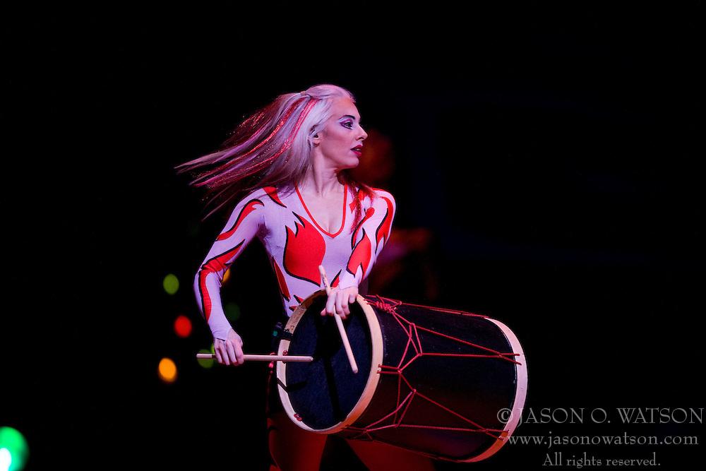 Cirque du Soleil performed their show Saltimbanco at the University of Virginia's John Paul Jones Arena in Charlottesville, VA on February 26, 2008.