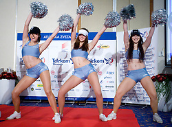 Dance group Ladies at Best Slovenian athlete of the year ceremony, on November 15, 2008 in Hotel Lev, Ljubljana, Slovenia. (Photo by Vid Ponikvar / Sportida)
